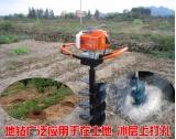 二冲程挖坑机